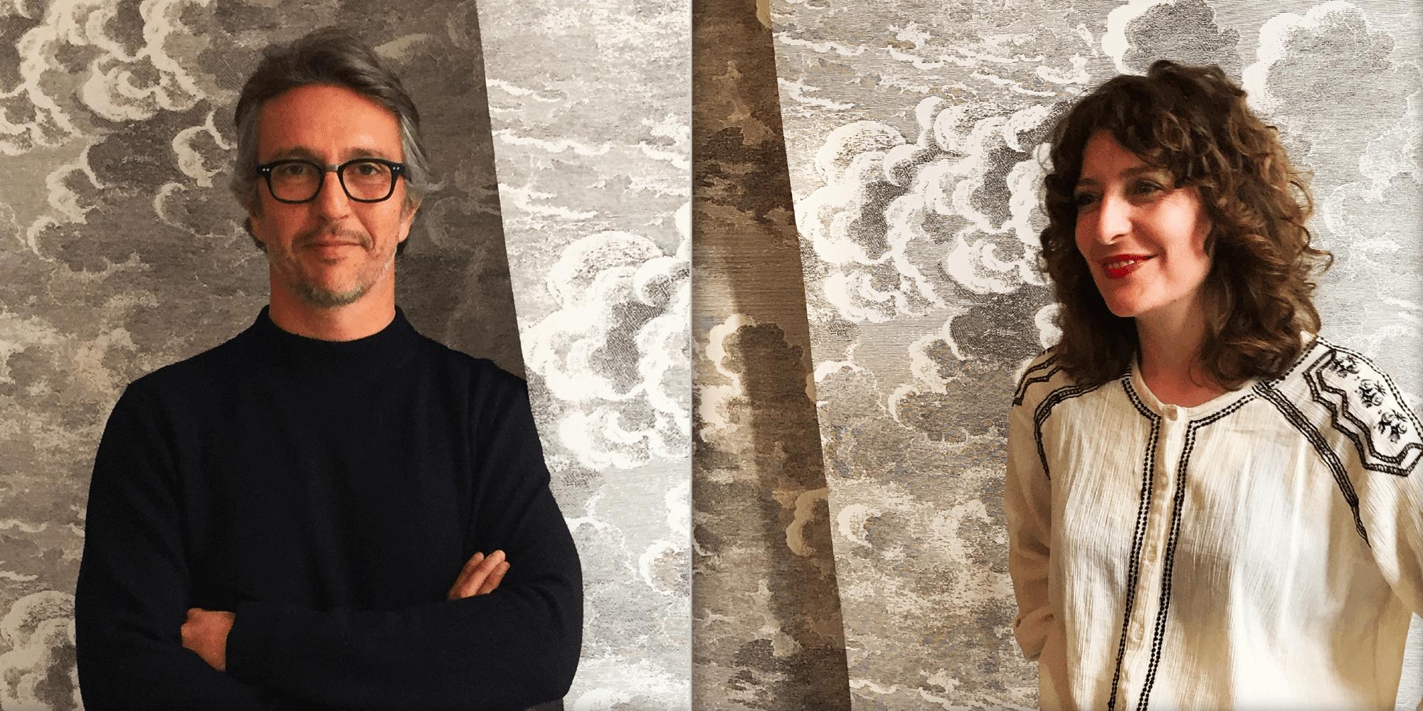 Marc Le Pitre (Fondateur - Atelier Lum) & Marielle Dubois (DA)
