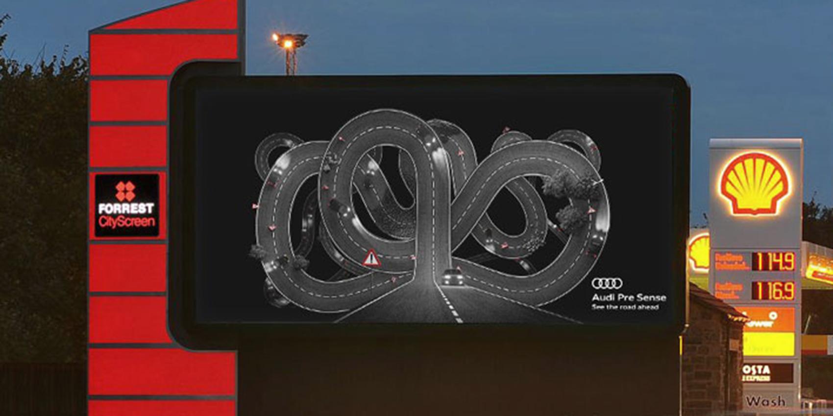 Campagne publicitaire Audi