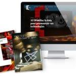 Encarts publicitairessur le magazine IC