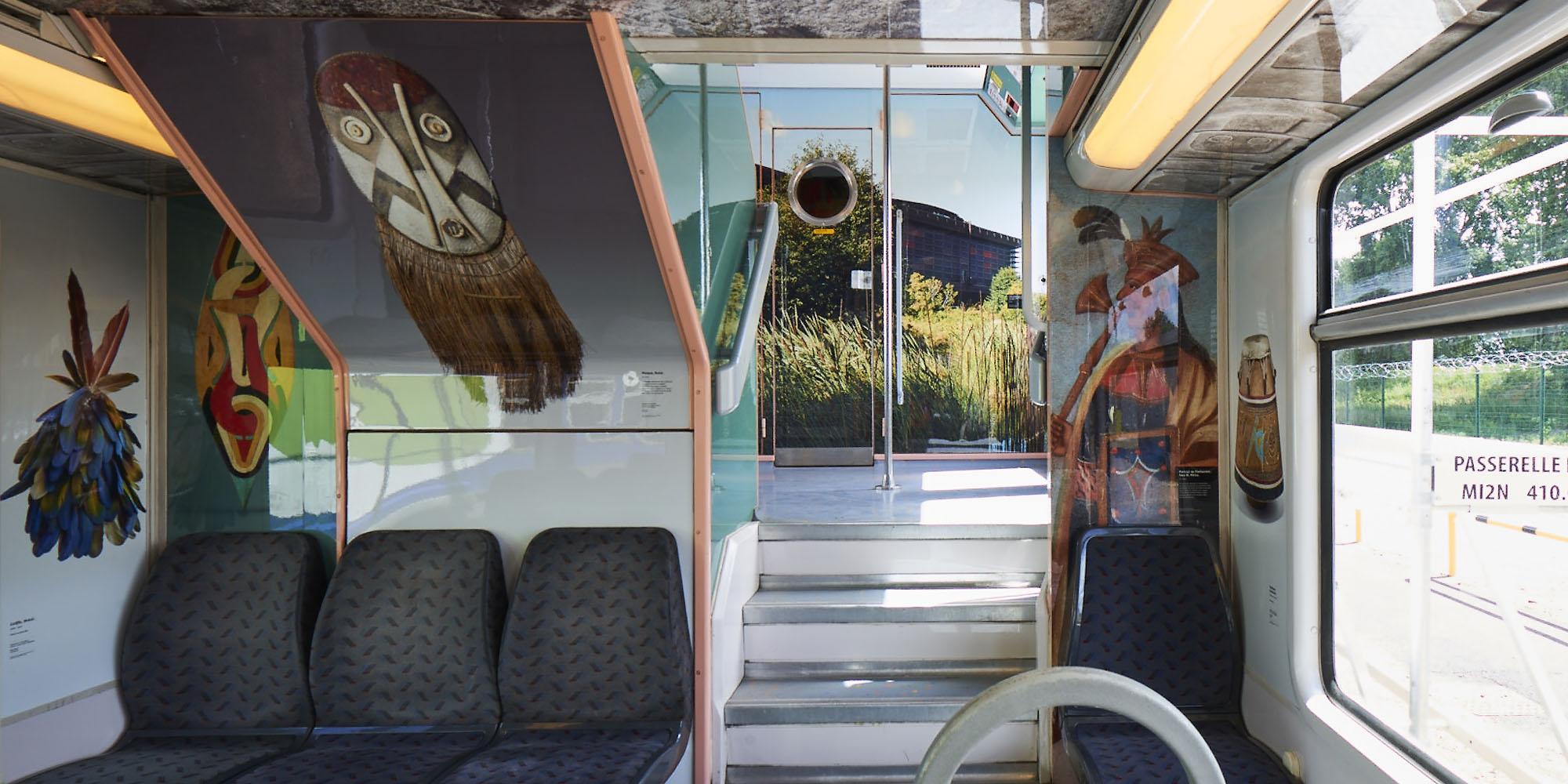 Train arts civilisations RER Paris