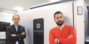 FP Mercure, premier Français équipé d'une HP Indigo 30 000