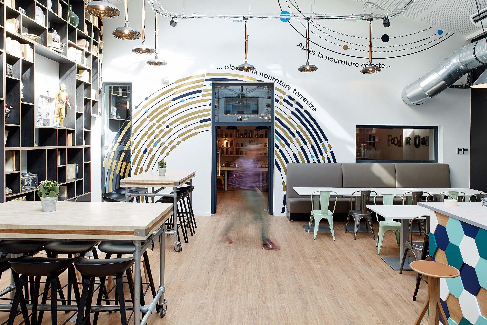 Comet Meetings, c'est 1475 m2, 16 salles, un restaurant