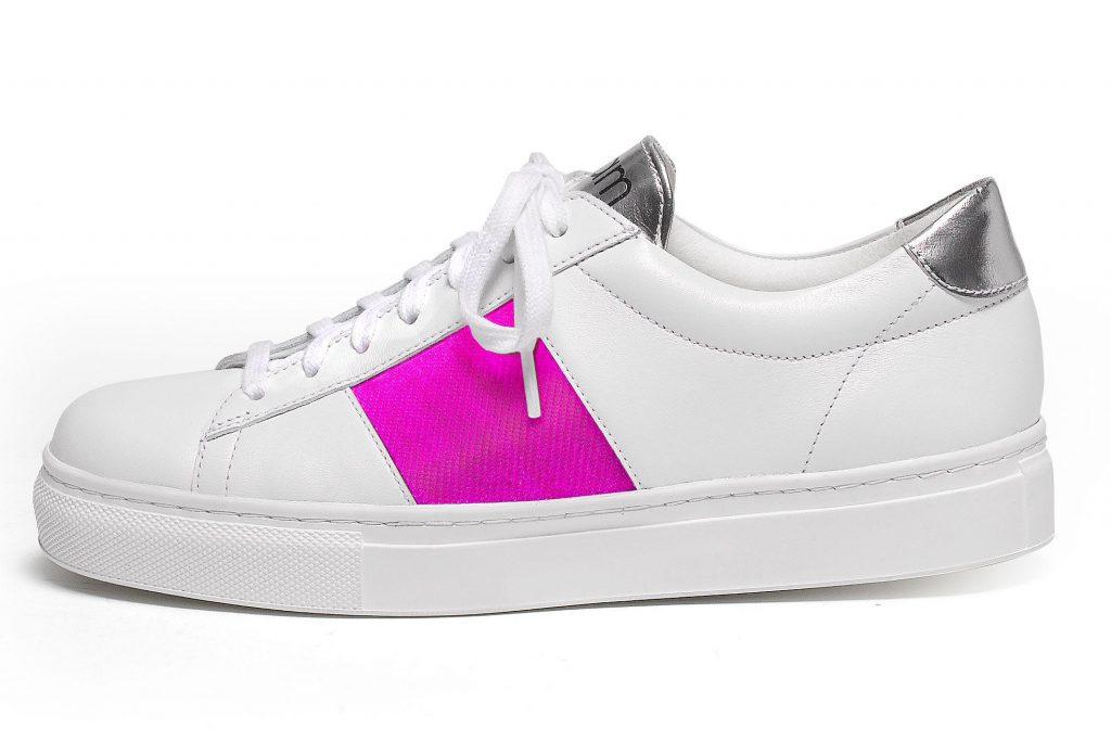 Chaussures textile connecté