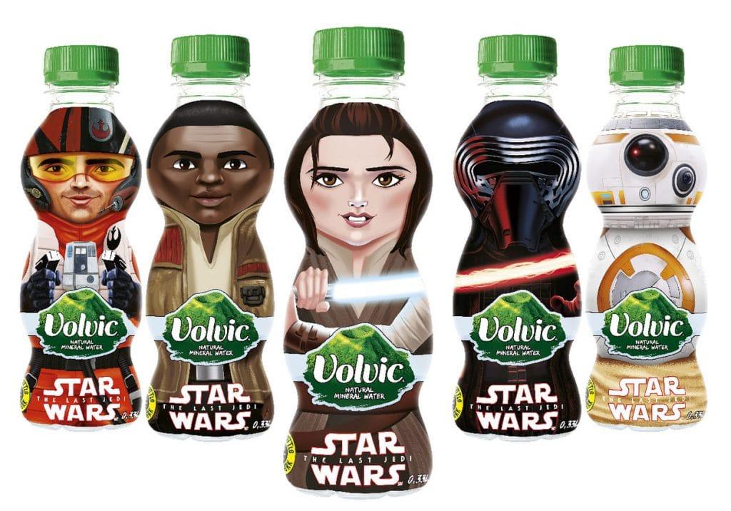 Volvic personnalisation Star Wars