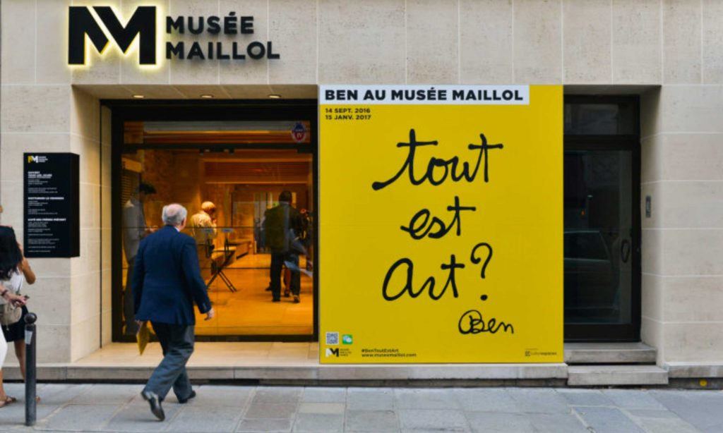 Musée Maillol par Nojac Enseignes