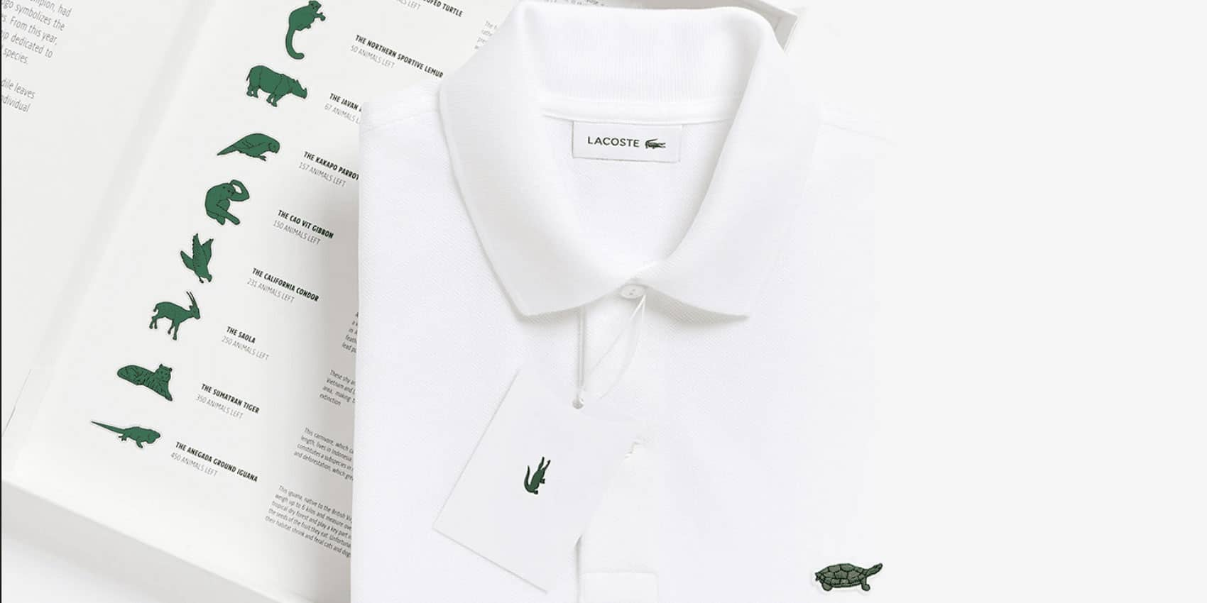 Collection Save Our Species, Lacoste