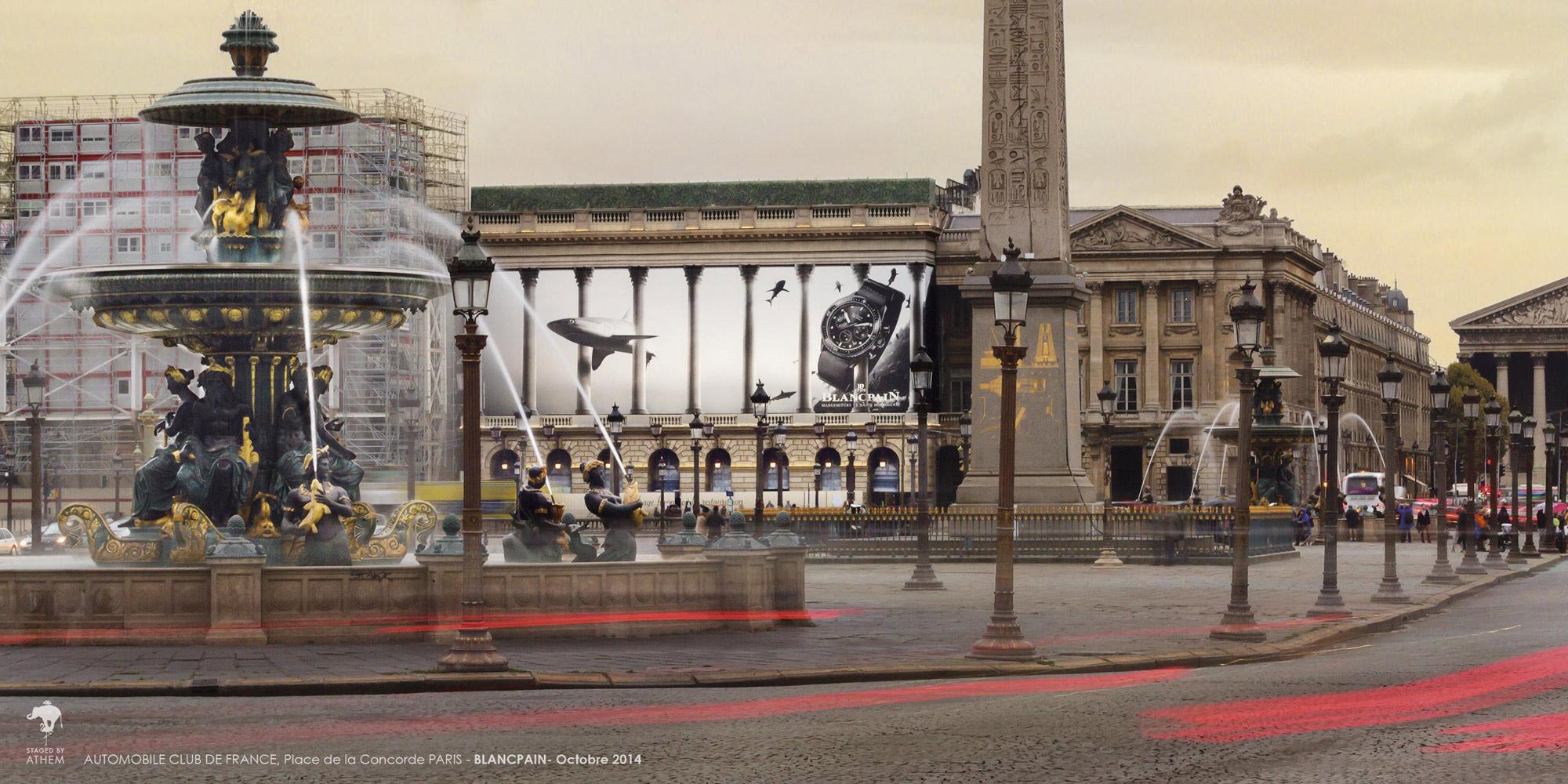 Affichage monumental Blancpain (c)