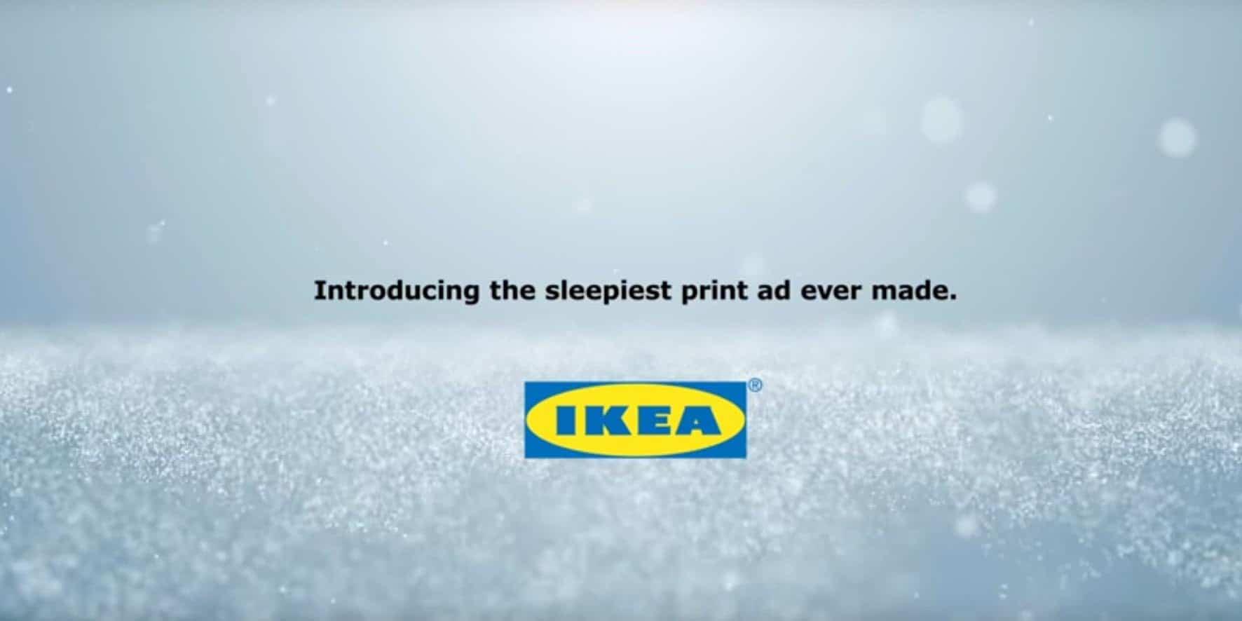Ikea publicité olfactive
