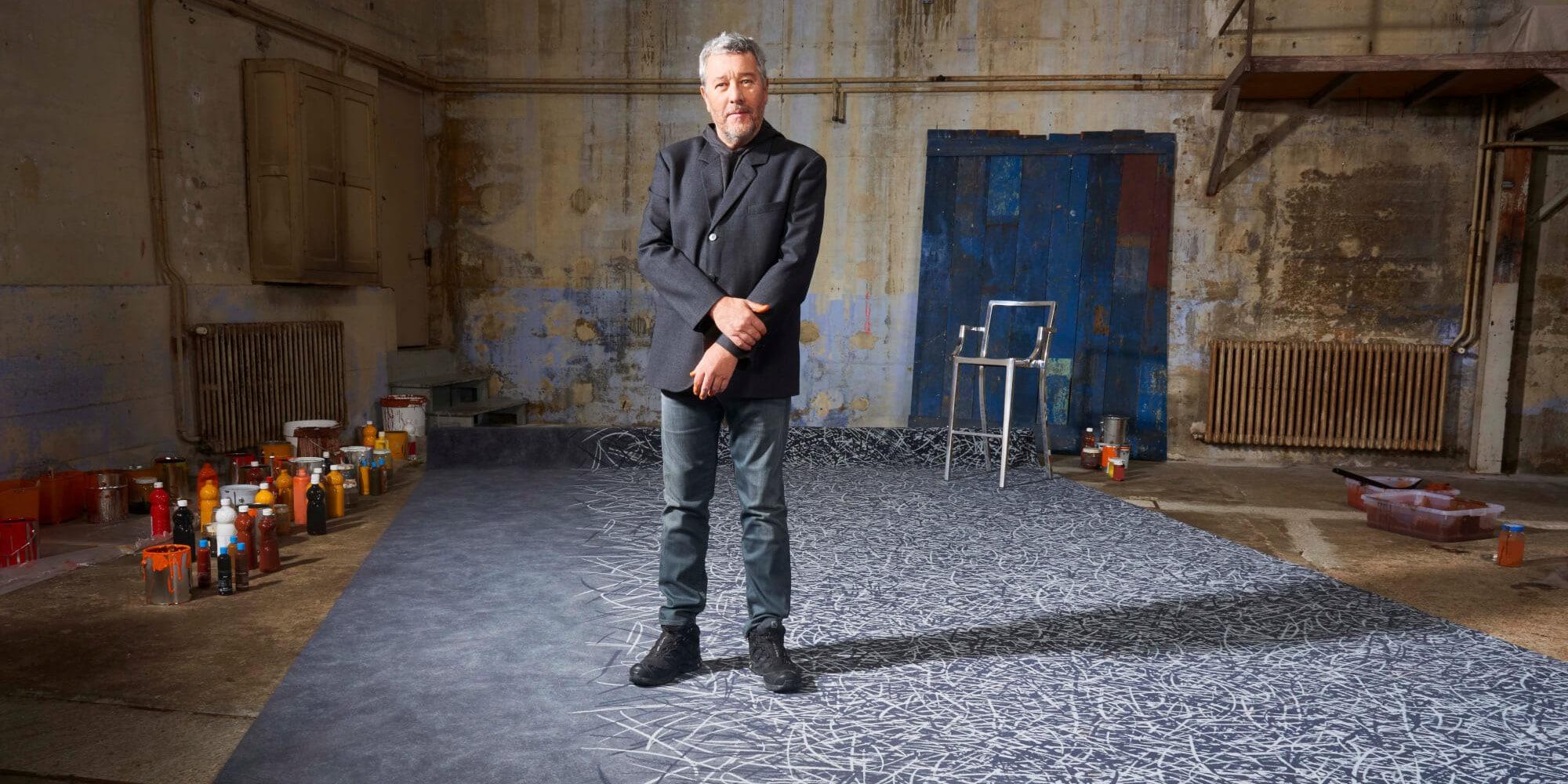 Philippe Starck sols imprimés