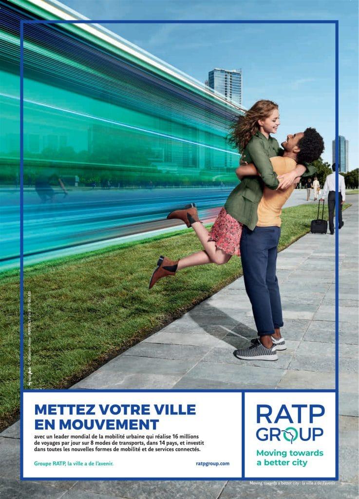 Nouvelle campagne RATP Grou
