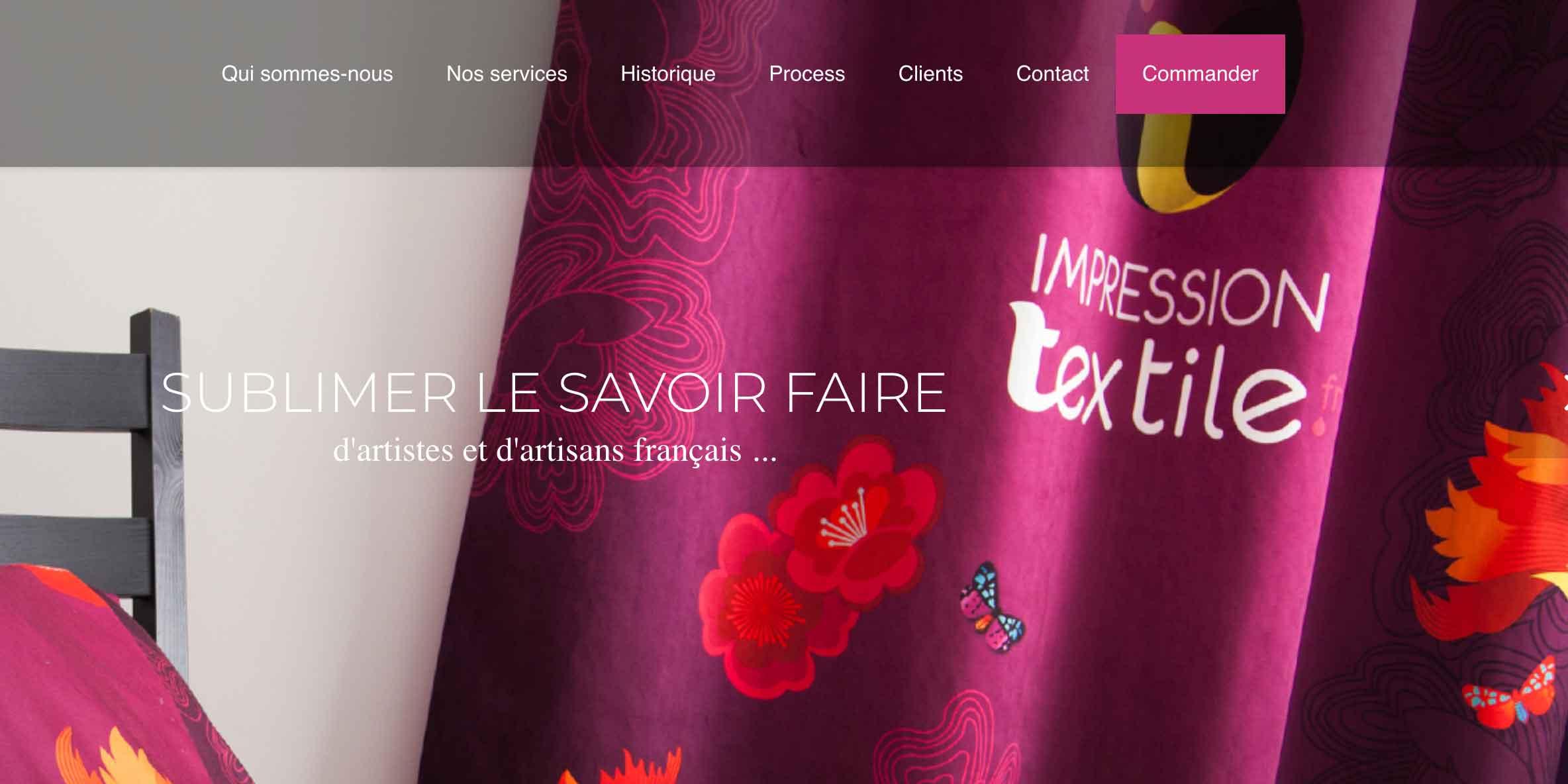 mpressiontextile.fr : de la mode à la décoration