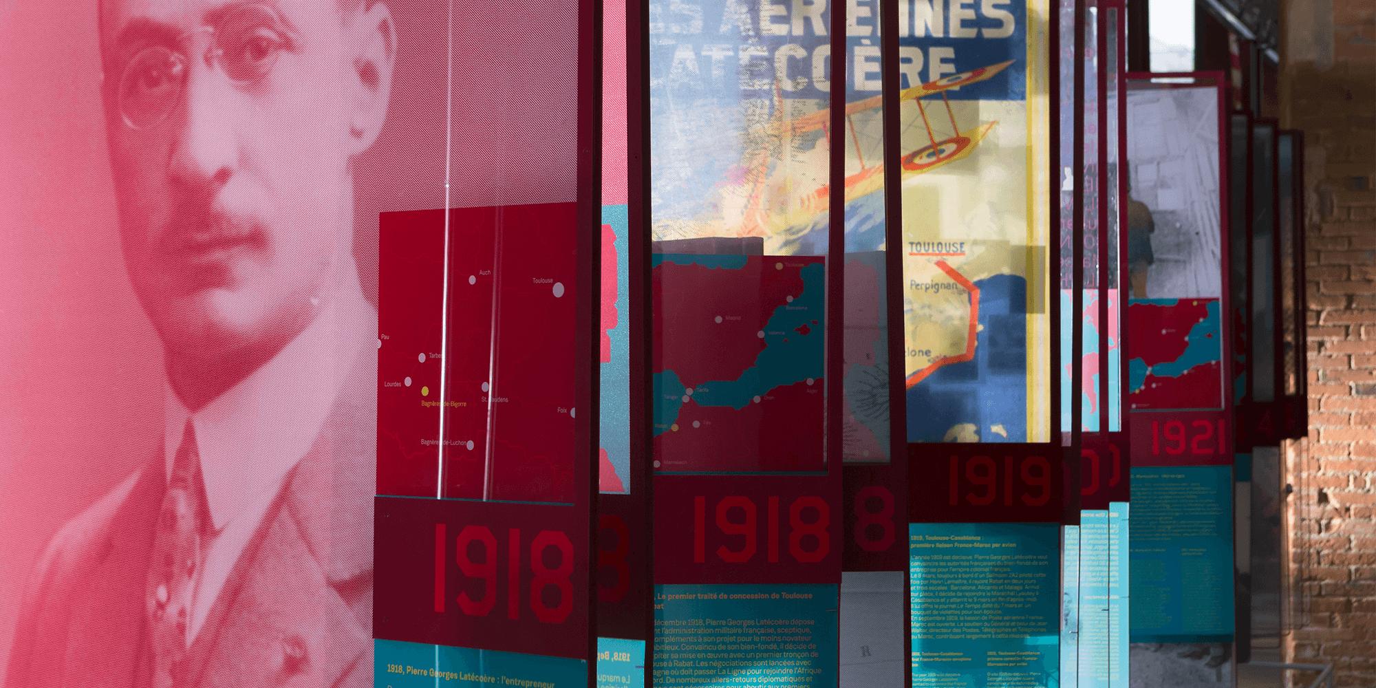 Décor Cinéma Musée Aéropostale