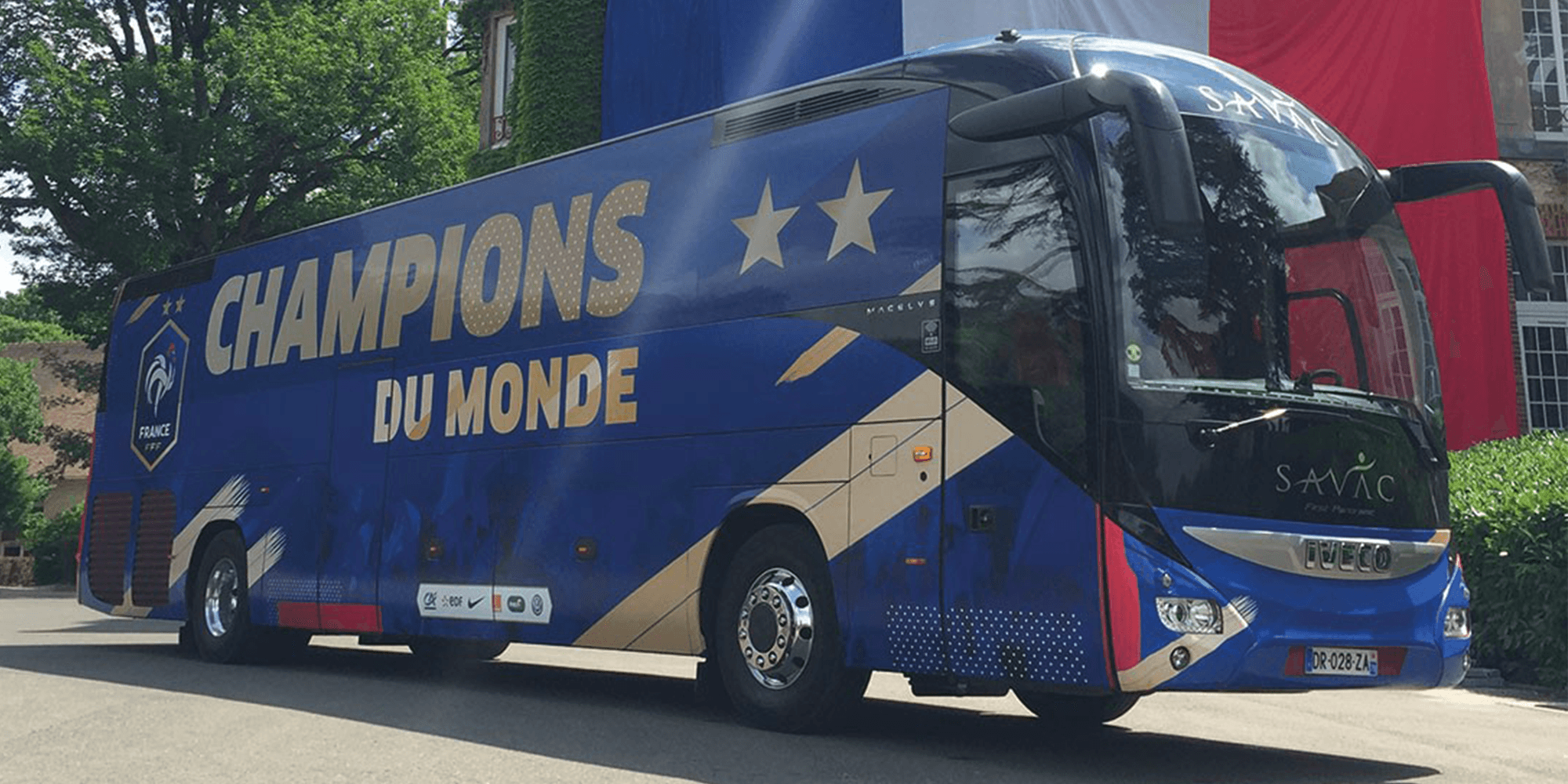 Covering Equipe France Coupe du monde champion