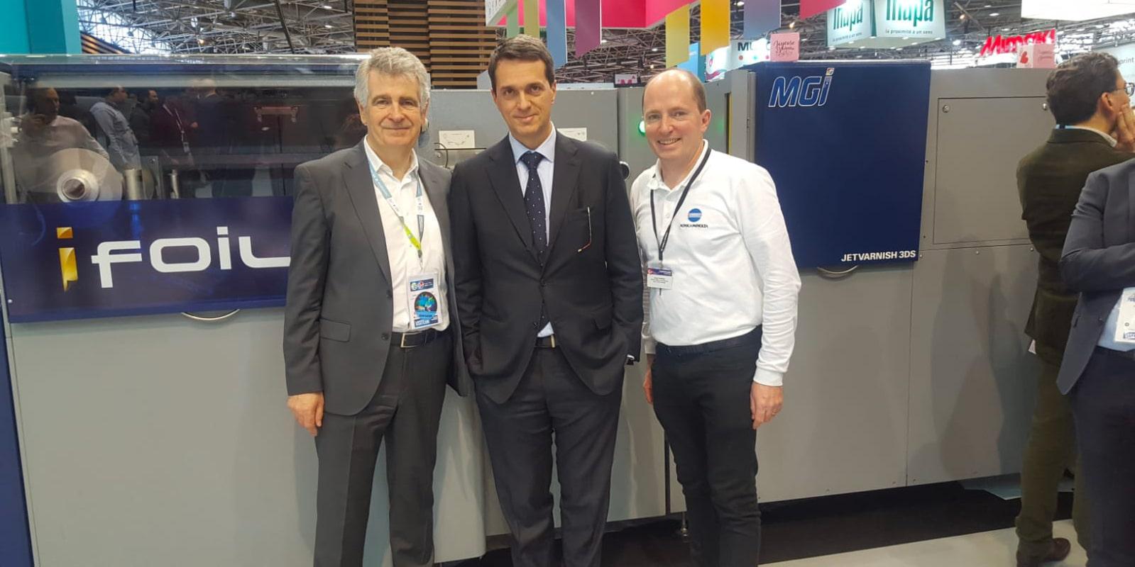La Nouvelle Imprimerie Laballery, spécialiste du livre, s'est équipée du système d'embellissement numérique d'imprimés JETvarnish 3DS de MGI Digital Technology.
