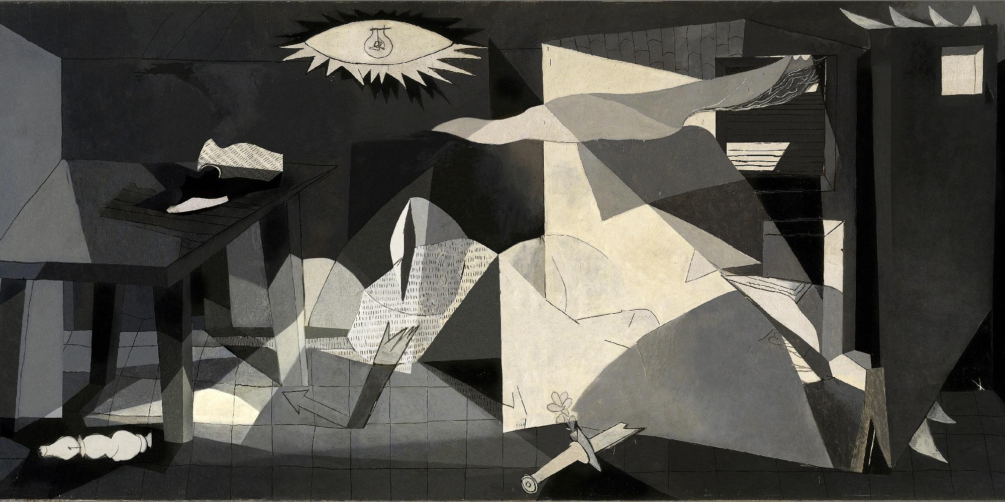 Le photographe José Manuel Ballester revisite le Guernica de Picasso, grâce à l'impression numérique.