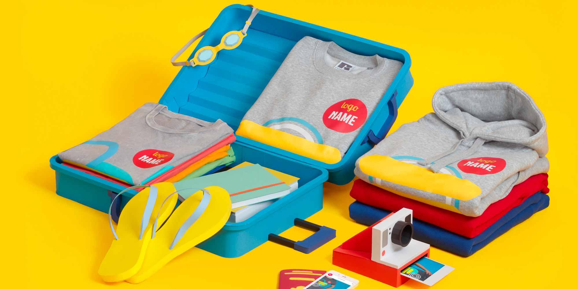 Print.com lance une gamme de textiles imprimés.